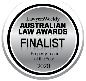ALA Finalist Property Team Of The Year 2020
