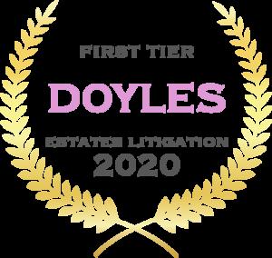 Doyle's Will & Estates Litigation 2020
