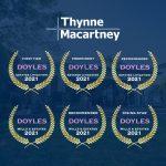 Thynne + Macartney ranks again as a first tier Wills & Estates Litigation law firm